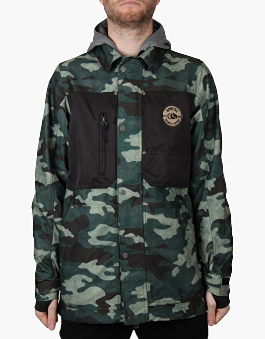 Bonfire Utility Ltd 2016 Snowboard Jacket - Camo/Black