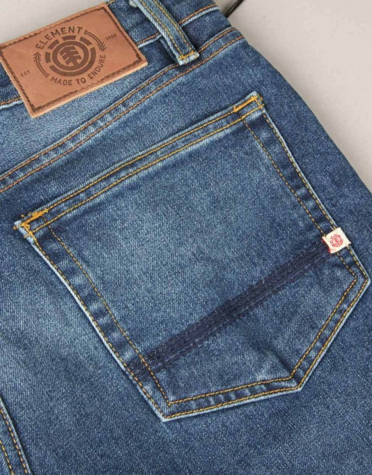 Element Owen Slim Tapered Jeans - MB Mid Used