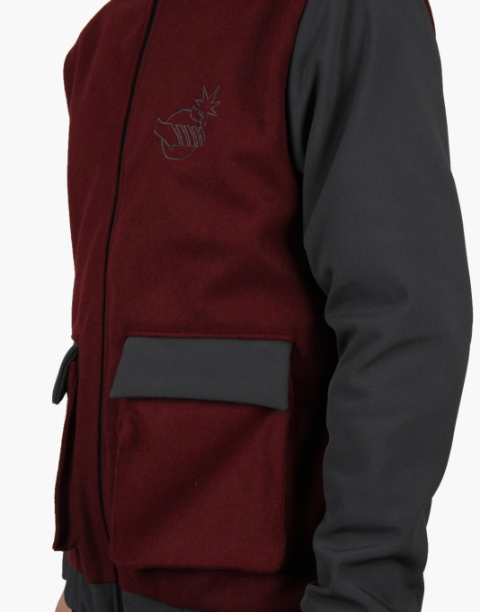 The Hundreds x Back to the Future McFly Jacket - Maroon