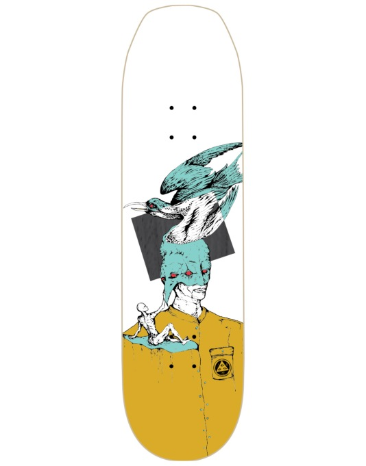 Welcome Feel Nothing on Baculus Team Deck - 8.75""
