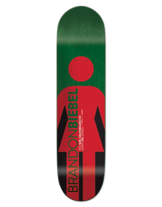 Girl Biebel Giant OG Pro Deck - 7.875""