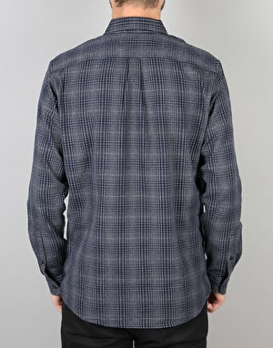 Levi's Skateboarding Reform L/S Shirt - Mace Navy Blazer Plaid