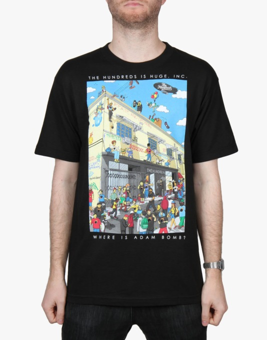The Hundreds Where's Adam T-Shirt - Black
