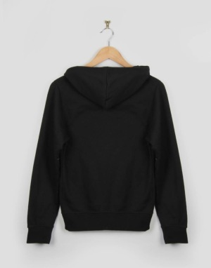 Route One Boys Logo Pullover Hoodie - Black