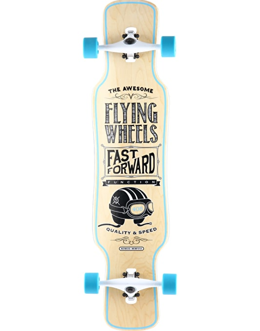 "Flying Wheels Helmet Longboard - 40.5"" x 9.5"""