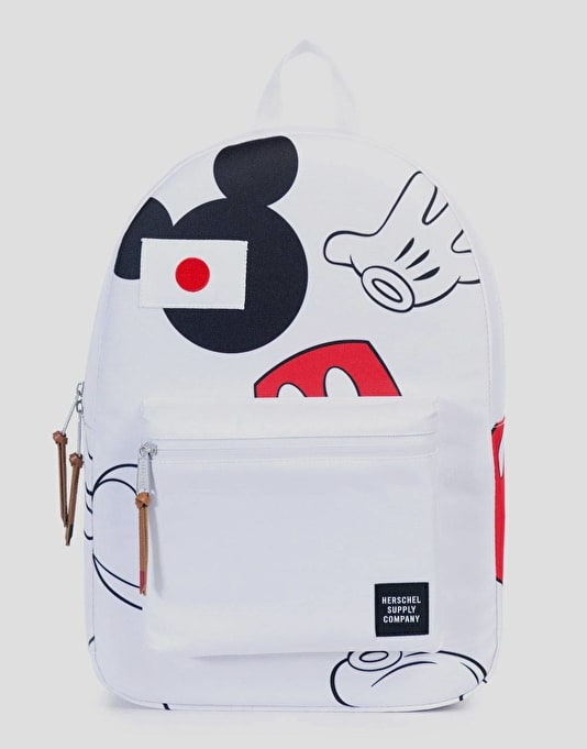 Herschel Supply Co. x Disney Settlement Backpack - Mickey Mouse White