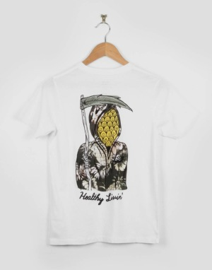 Globe Est. At Sea Boys T-Shirt - White Livin'