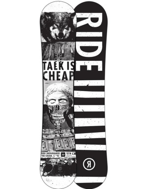Ride Crook 2016 Snowboard - 157W