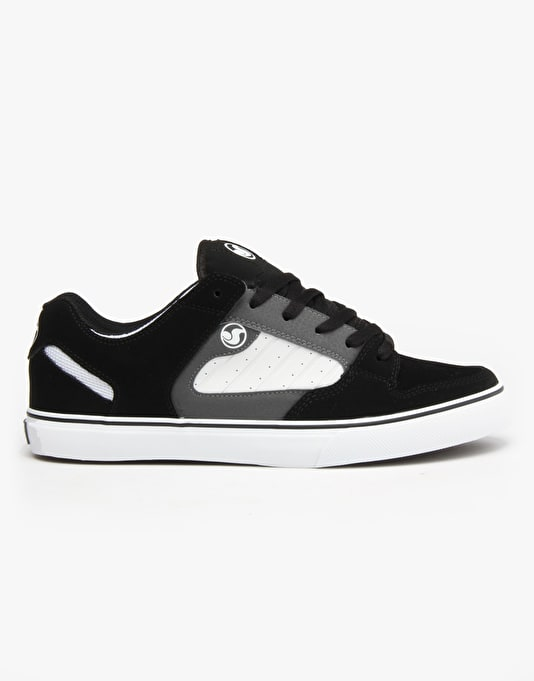 DVS Militia CT Skate Shoes - Black/Wht Nubuck