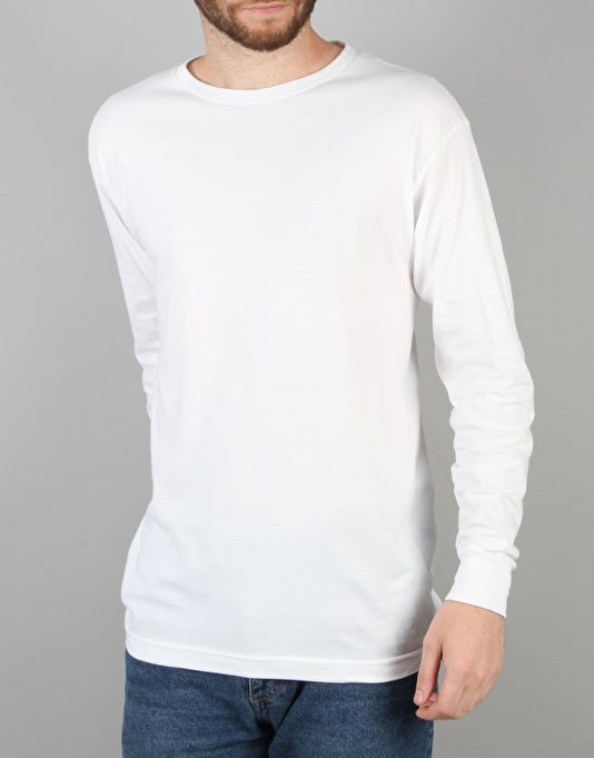 Welcome Devour L/S T-Shirt - White/Glow