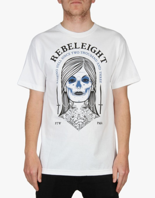 Rebel8 Persephone T-Shirt - White