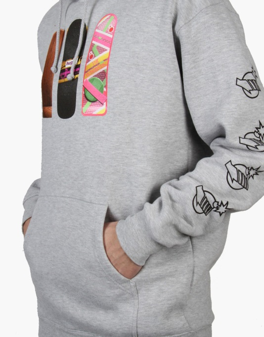 The Hundreds x Back to the Future Generations Pullover Hoodie- Heather
