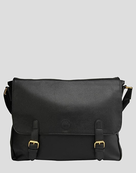 Mi-Pac Tumbled Messenger Bag - Black