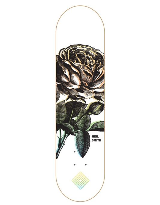 The National Skateboard Co. Smith Roses 3 Pro Deck - 8.25""
