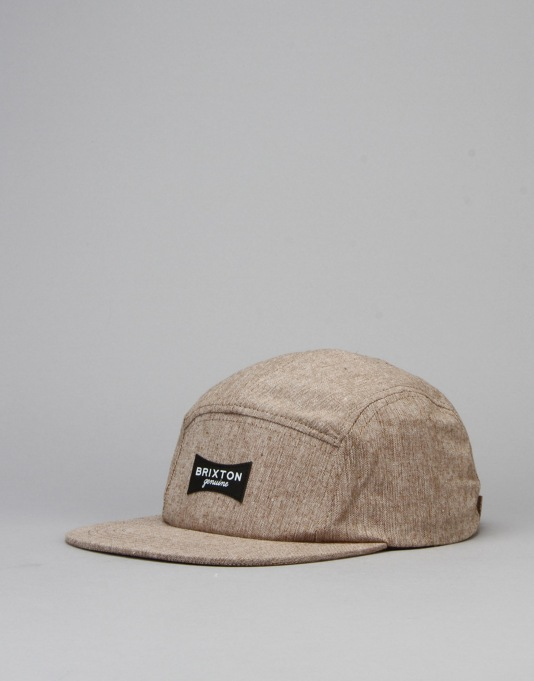 Brixton Ramsey 5 Panel Cap - Tan
