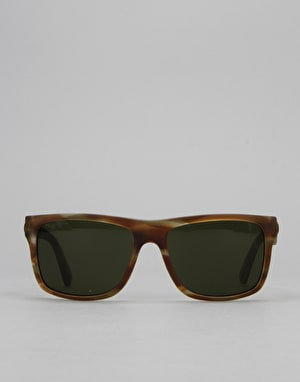 Electric Swingarm Sunglasses - Matte Green Tortoise/Medium Grey