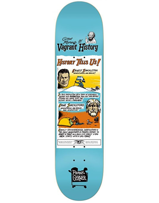 Anti Hero Gerwer Vagrant History Pro Deck - 8.12""