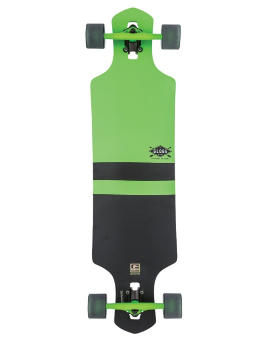 "Globe Geminon Drop Through Longboard - 38.5"" x 10"""
