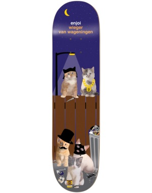 Enjoi Wieger Alley Cats Pro Deck - 8.375