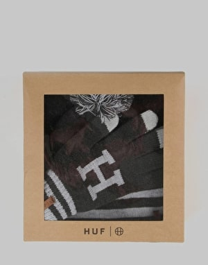 HUF Collegiate H Gift Set - Charcoal