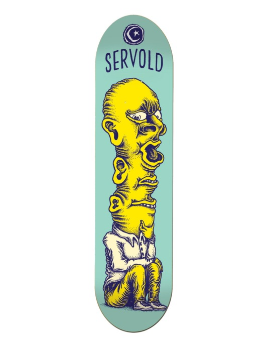 Foundation Servold Thinker Pro Deck - 8.125""