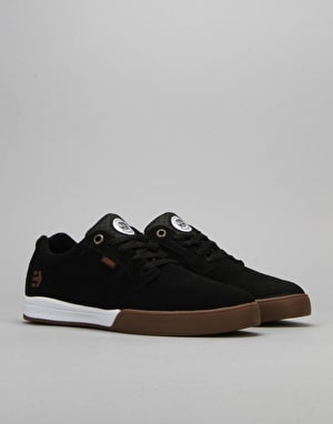 Etnies x Element Jameson E-Lite Skate Shoes - Black/White/Gum