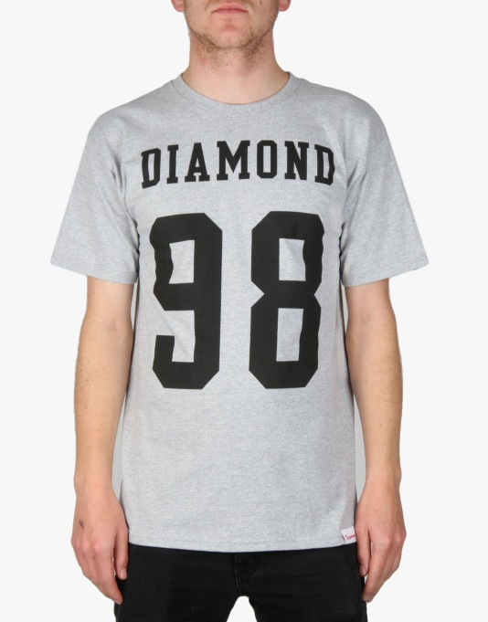 Diamond Nine Eight T-Shirt - Heather Grey