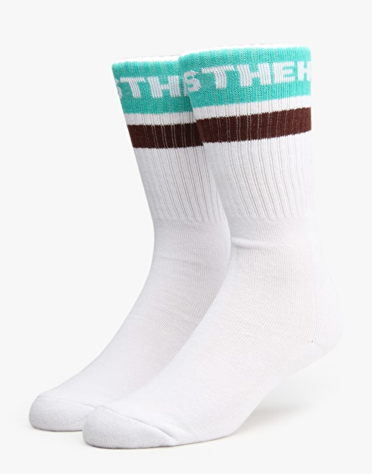 The Hundreds Physical Socks - Maroon