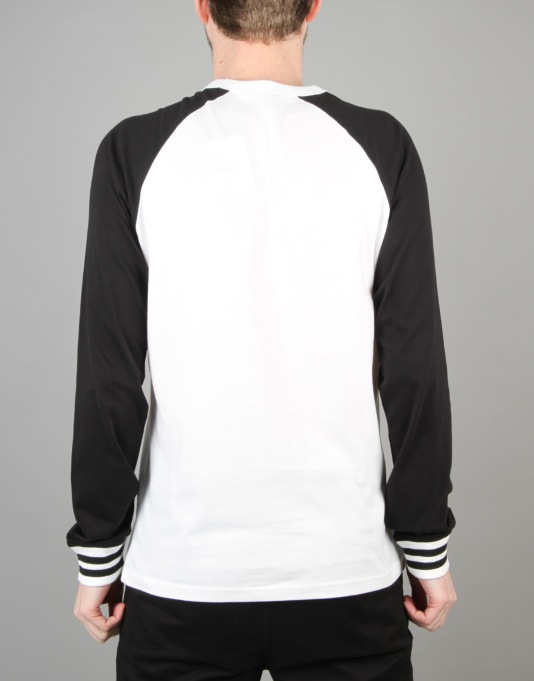 Carhartt York L/S T-Shirt - White/Black