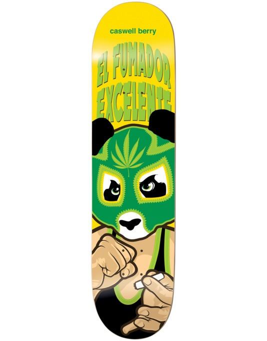 Enjoi Berry Wrestling Mask Impact Light Pro Deck - 8""