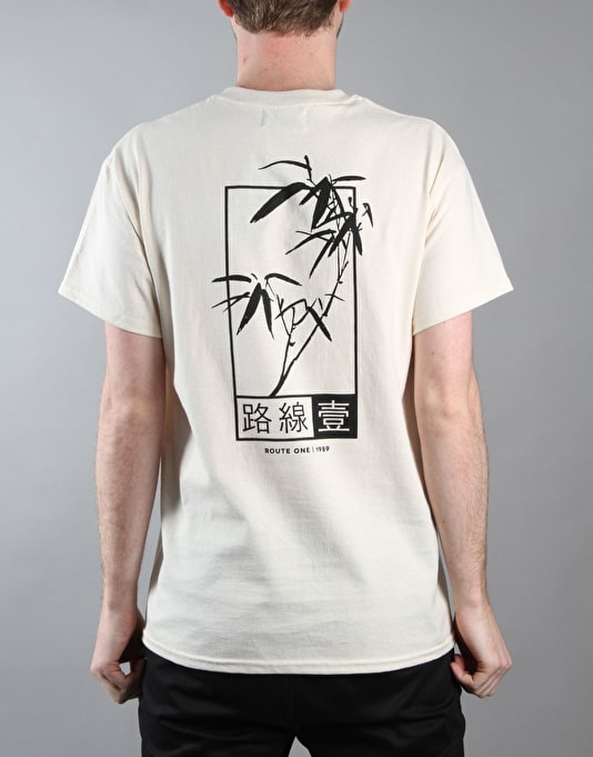 Route One Fastplant T-Shirt - Natural