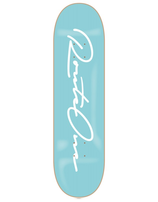 Route One Signature Logo Skateboard Deck - 7.75""