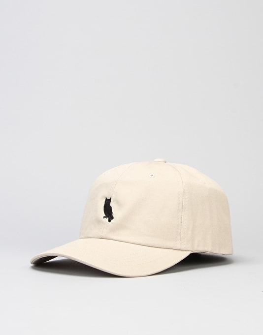 Welcome Parliament Unstructured Slider Strapback Cap - Khaki/Black