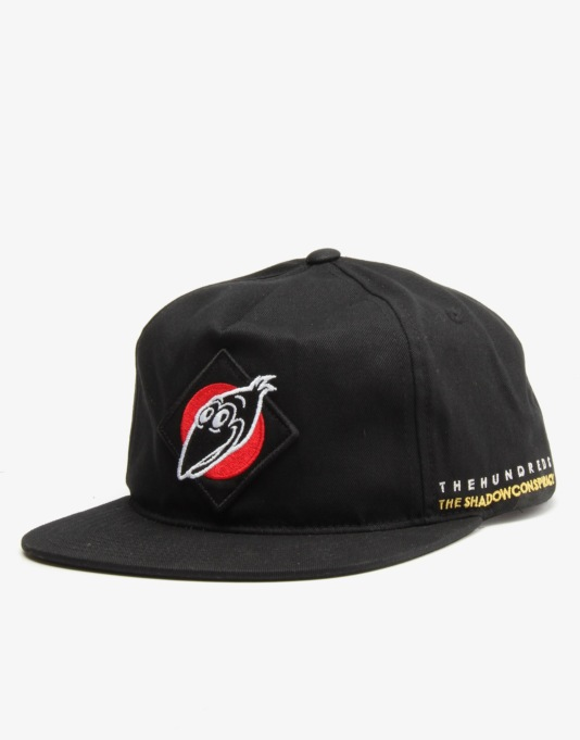 The Hundreds TSC 'The Shadow Conspiracy' Snapback Cap - Black