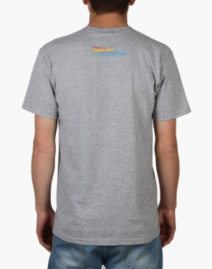 The Hundreds x Back to the Future Plans T-Shirt - Athletic Heather