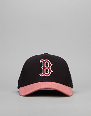 New Era MLB Boston Red Sox Team Chenille Logo Cap - Blue