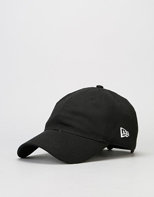 New Era 9Forty Unstructured Strapback Cap - Black