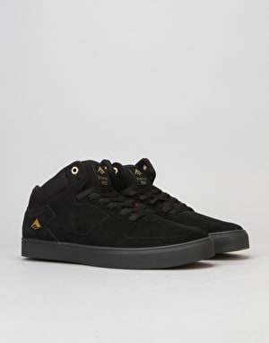 Emerica The Hsu G6 Skate Shoe - Black/Black