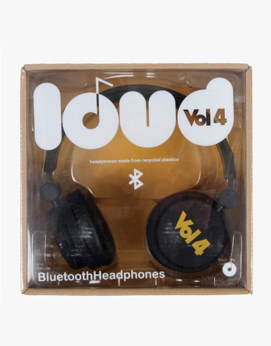 Loud x Vol 4 Bluetooth Headphones - Black