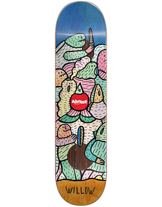 Almost x Lucas Beaufort Willow Impact Plus Pro Deck - 8.38""