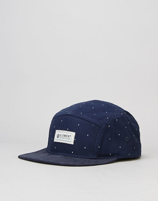 Element Elder 5 Panel Caps - Eclipse Navy
