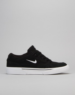 Nike SB Zoom GTS Skate Shoes - Black/White