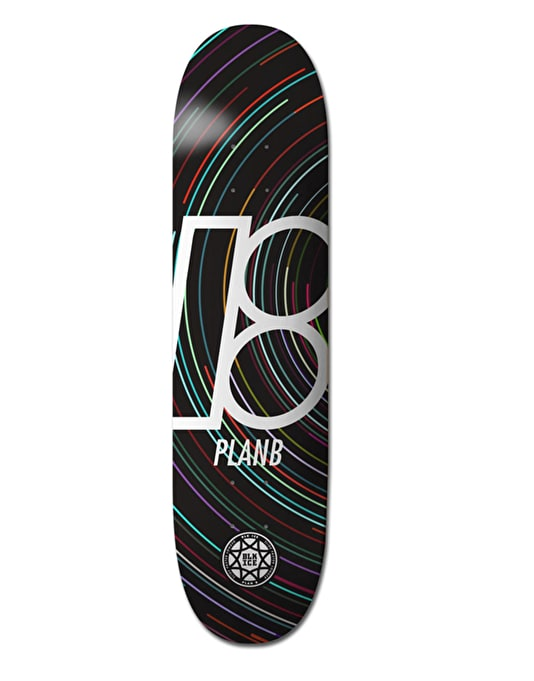 Plan B Spin BLK ICE Team Deck - 8""