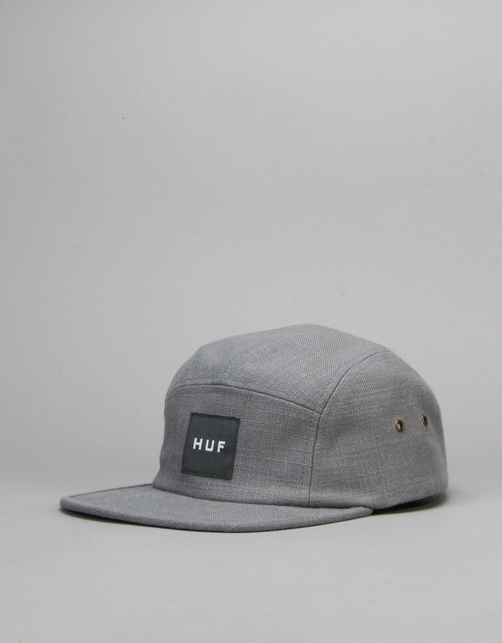 438c91b3 HUF Tonal Linen Volley 5 Panel Cap - Slate | 5 Panel Caps | Caps & Hats|  Skate Accessories | Route One