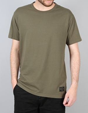 Levi's Skateboarding 2 Pack T-Shirts - Camo/Ivy Green