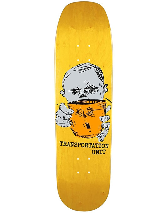 Transportation Unit Black Coffee Team Deck - 8.5""