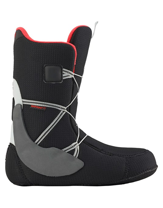 Burton Highline Boa 2016 Snowboard Boots - Grey/Red