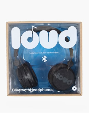 Loud Classic Bluetooth Headphones - Black