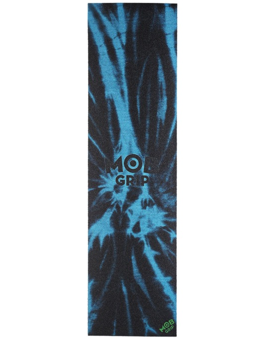 "MOB Tie Dye 9"" Graphic Grip Tape Sheet - Black/Blue"