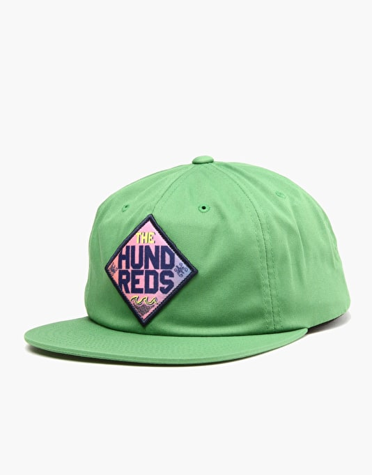The Hundreds Carve Snapback Cap - Green